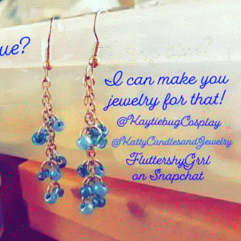Feeling Blue, Enjoy Some Jewelry!